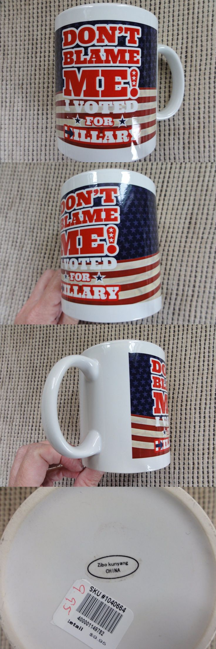 Hillary Clinton: Hillary Clinton President 2016 Election 11Oz Coffee Mug Cup White Democrat Gop -> BUY IT NOW ONLY: $9.95 on eBay!