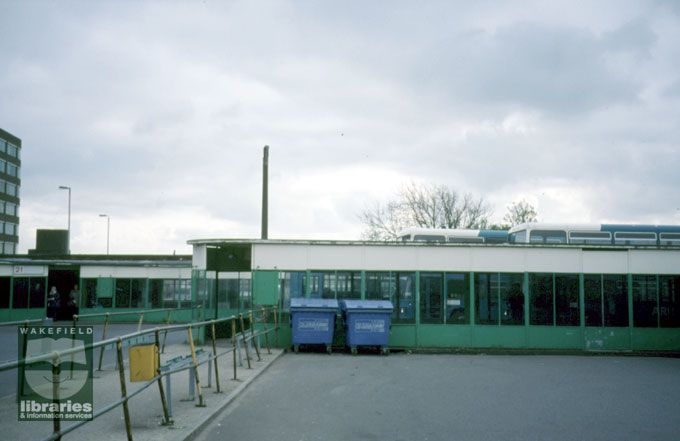 Wakefield Bus Station, 2001 ahhh remember it like this