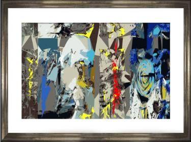"Saatchi Art Artist Hernan Paravic; Printmaking, ""UKILLANDO - Limited Edition 1 of 2"" #art"