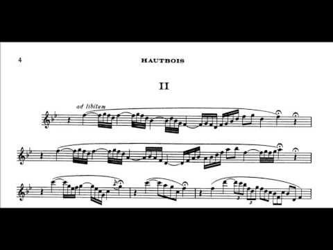 Saint-Saëns/Oboe Sonata