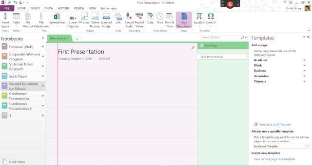 templates for onenote 2010 - 1000 images about onenote templates on pinterest your