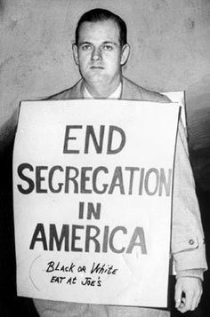 1963 --- William Lewis Moore, a white postal worker from Maryland who walked to Mississippi to deliver a letter against segregation. Murdered 5 days before his birthday in 1963.