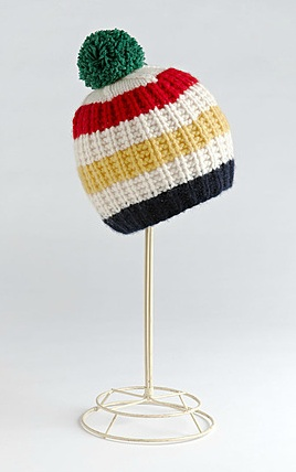HUDSON'S BAY COMPANY COLLECTION Chunky Knit Cashmere Toque