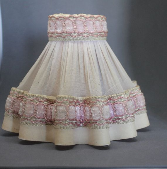 Vintage French lampshade Small lampshade by FrenchVintageHome
