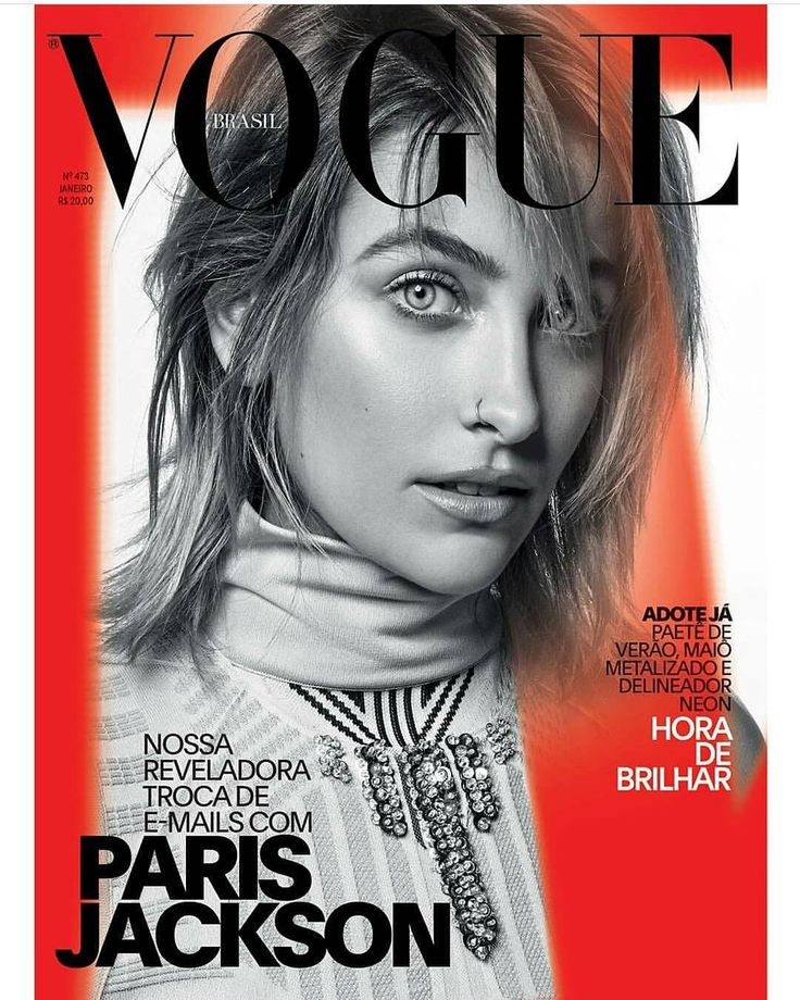 #ParisJackson covers the latest #Vogue #Brasil @voguebrasil #beauty #style #chic #glam #haute #couture #design #luxury #lifestyle #prive #moda #instafashion #Instastyle #instabeauty #instaglam #fashionista #instalike #streetstyle #fashion #photo #ootd #model #blogger #photography