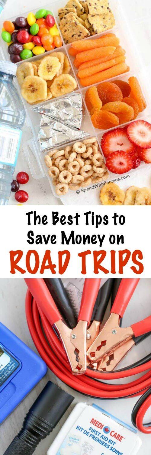 Here are my most budget friendly money saving tips for planning a great road trip! Save on gas, meals, and accommodation! #ad