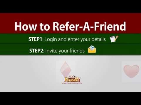 Learn how you can earn money by inviting friends over to play rummy online games at Classic Rummy. check the link below for more details https://www.classicrummy.com/online-rummy-promotions/rummy-refer-a-friend?link_name=CR-12