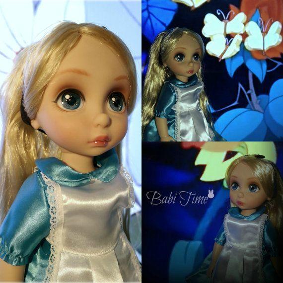 Disney Trickzeichner Alice (Ooak repaint benutzerdefinierte hinterrücks) – [Rapunzel Trickzeichner]