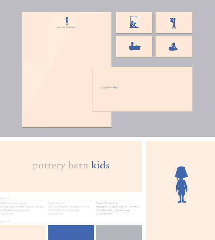 pottery barn kids :: by Character | Branding & Design Agency