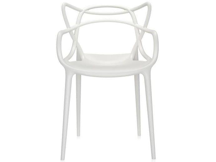 Krzesło Masters białe Kartell
