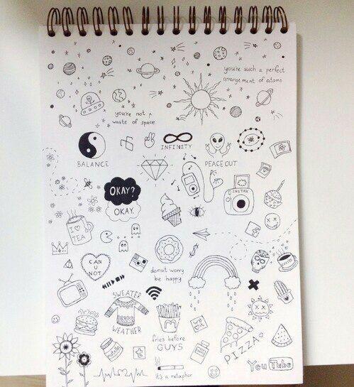 Book Cover Ideas We Heart It : Idées sur le thème notebook doodles pinterest