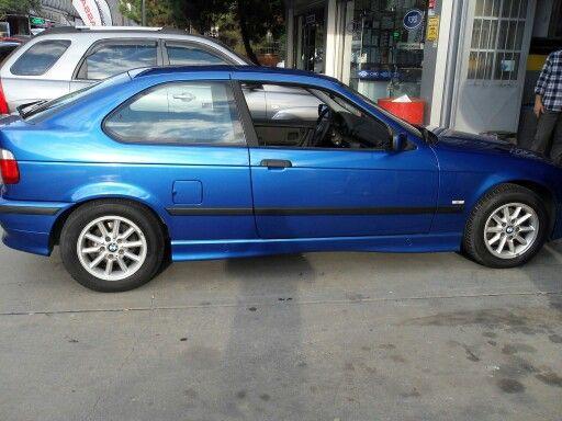 BMW E36 compact night blue folyo kaplama. (0212) 286 48 43 www.autovizyon.com