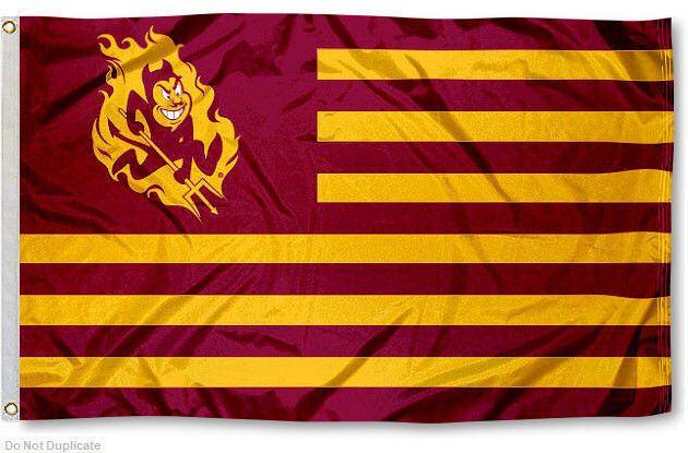 Arizona State University ASU Flag for Alumni Nation #ArizonaStateSunDevils