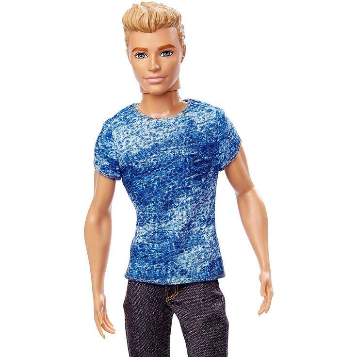 Barbie - Muñeco Ken Fashionista, un muñeco de Ken o de Ryan inspirado en las series de Barbie. ¡Ken y Ryan van a la última moda y saben posar como nadie!