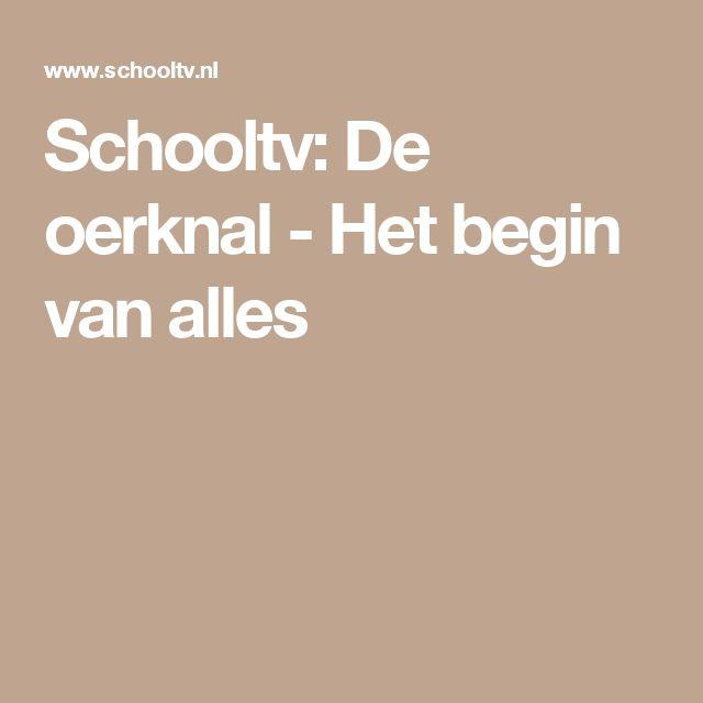Schooltv: De oerknal - Het begin van alles