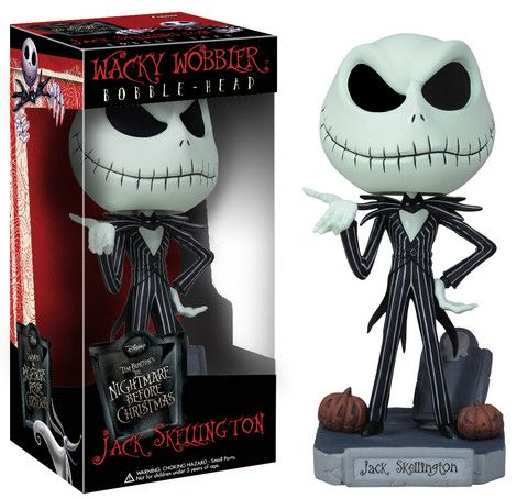 Wacky Wobbler: The Nightmare Before Christmas - Jack Skellington | Funko