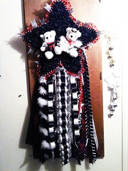 Homecoming Mum - Custom Star Shape