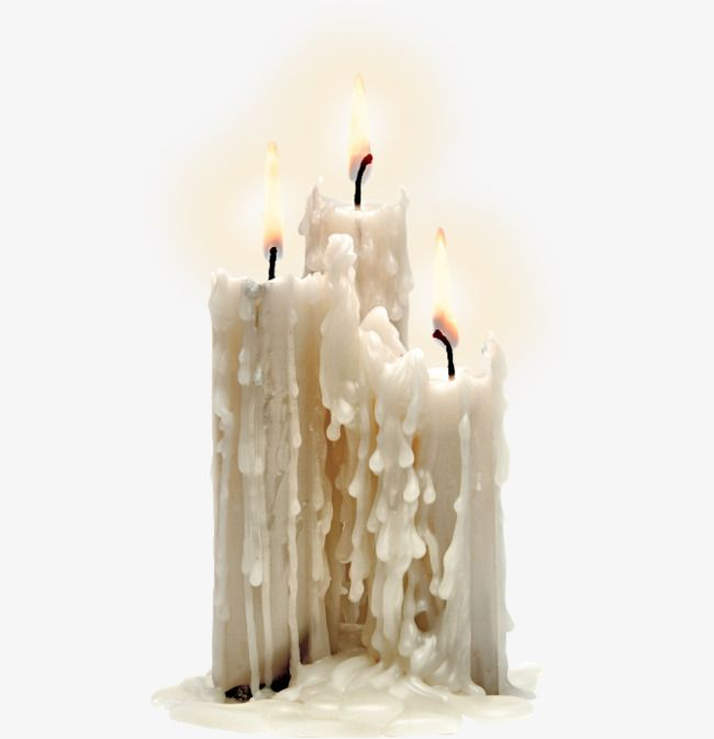 Burning Candles Png And Clipart Melting Candles Candle Aesthetic Candles