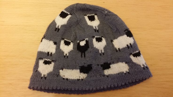 Made for a girl that love sheeps. 100% wool