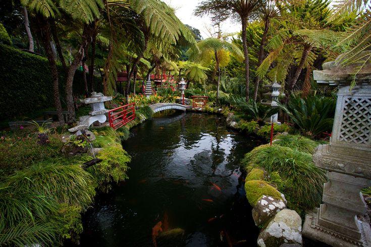 Monte Palace Tropical Garden. Madeira
