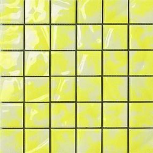 #Settecento #Musiva Giallo Limone 4,5x4,5 On Grid 28,6x28