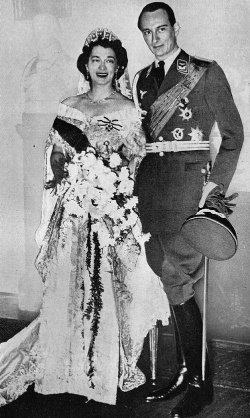 Kira Kirillovna on her wedding day.