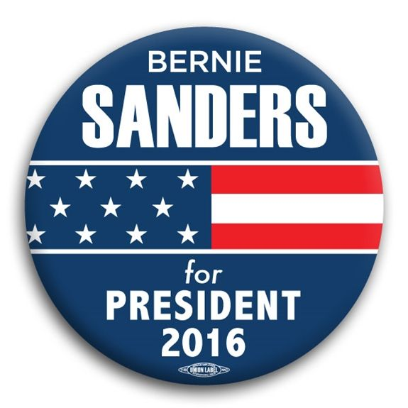 Bernie Sanders for President Button