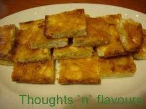 Thoughts 'n' flavours - Πρασοτυρόπιτα χωρίς φύλλο