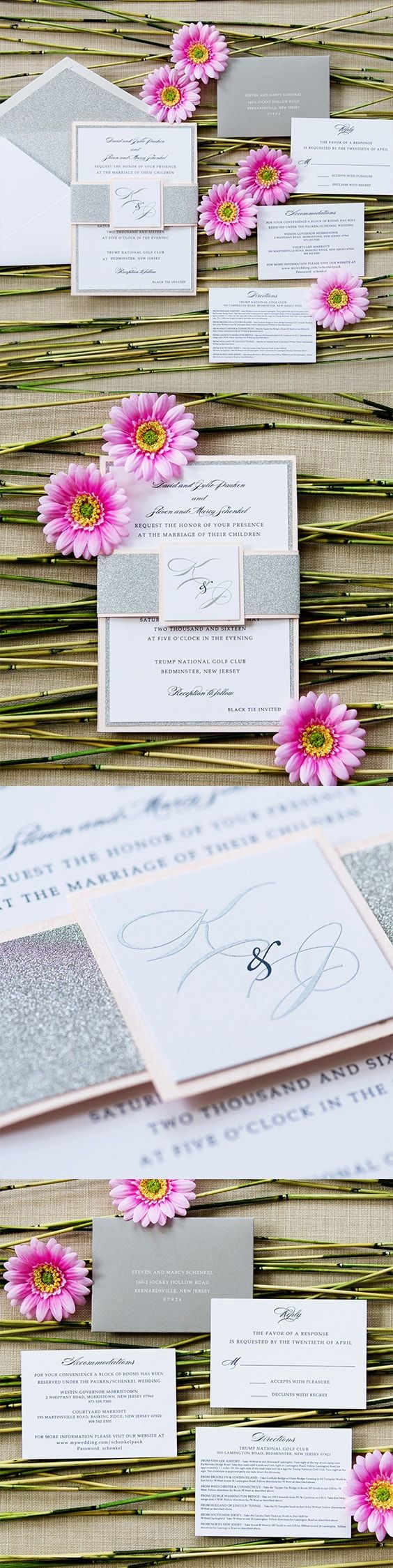 how to address wedding invites%0A Cassie Wedding Invitation