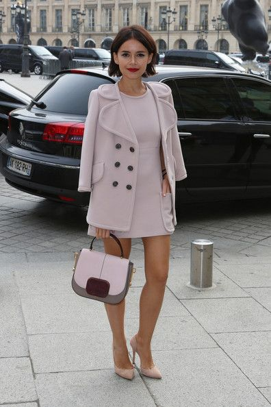 Miroslava Duma - Miroslava Duma at Paris Fashion Week