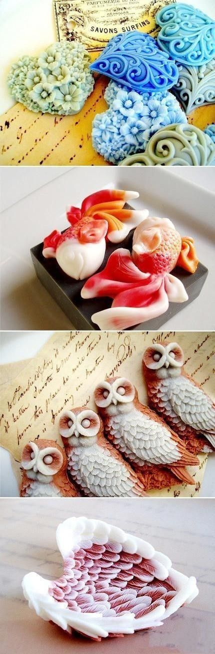 Top Creative Works » Beautiful handmade soaps 6-12