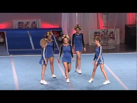 Vista Twisters Junior Group Stunt Level 4 - YouTube