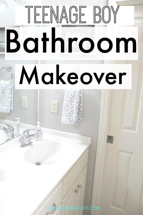 teen boy bathroom makeover mom blogs to follow pinterest group rh pinterest com