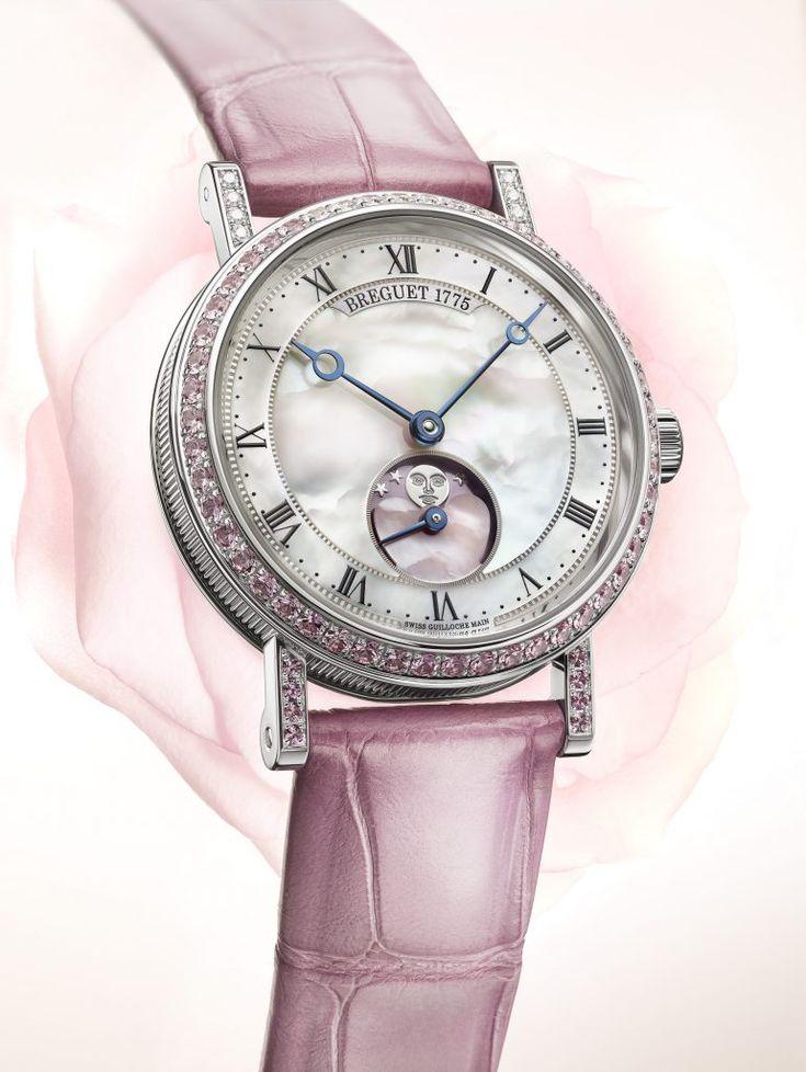 Breguet Classique Phase de Lune Dame Valentines Day watch