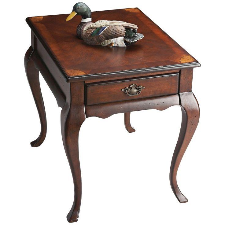 Jackson Plantation Cherry End Table - Style # 3T551