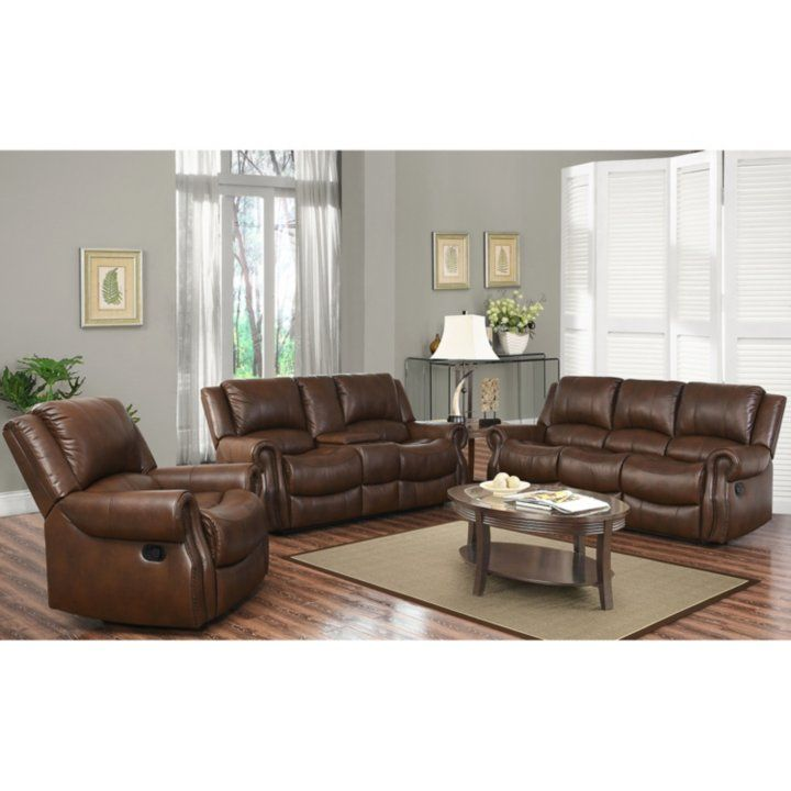 Harvest Reclining Sofa Loveseat And Chair Set Detail 1 Leather Sofa And Loveseat Top Grain Leather Sofa Sofa #sams #living #room #furniture