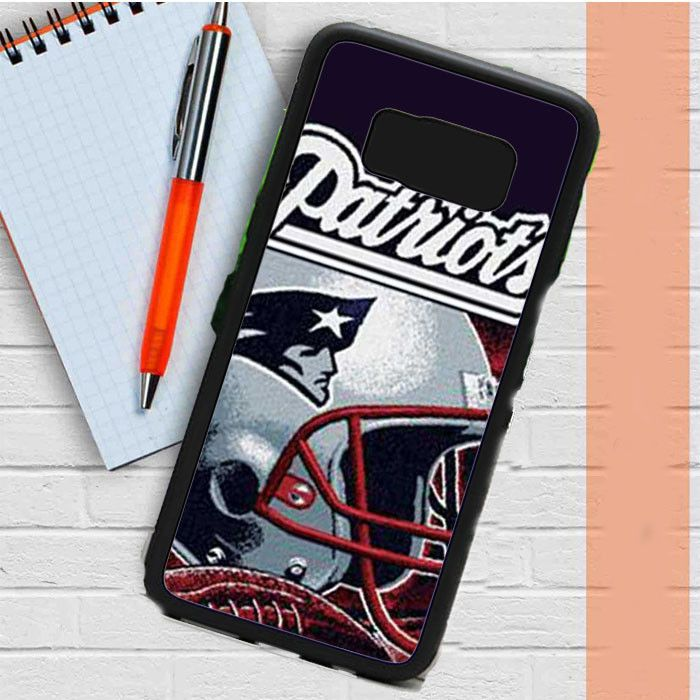 New England Patriots Rough Helmet Samsung Galaxy S8 Plus Case Dewantary