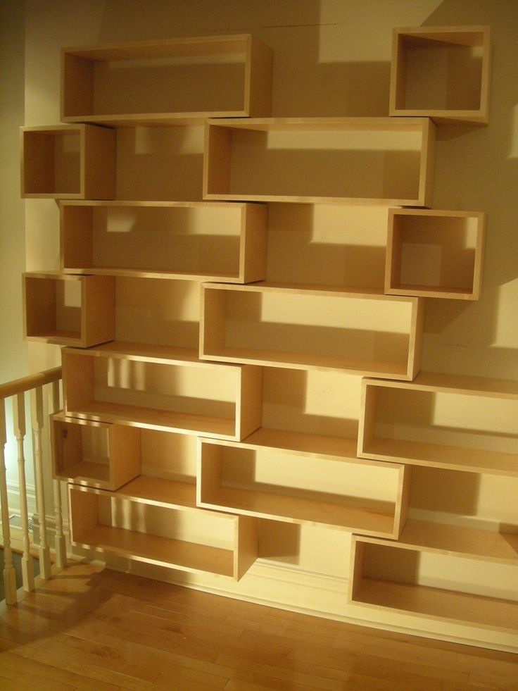 Modern Wall Hung Library