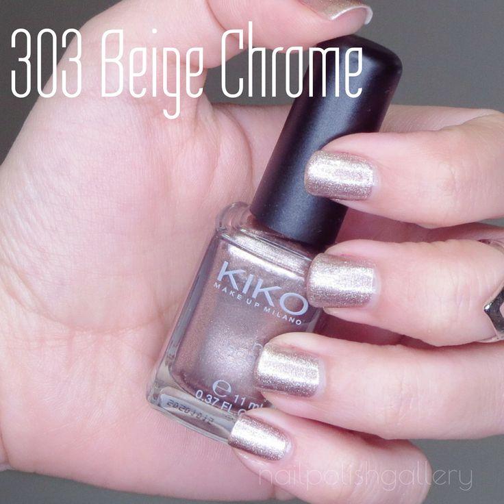 """303 Beige Chrome"" Kiko Cosmetics"