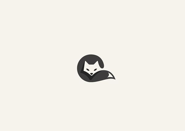 More Adorable Animal Logos Cleverly Created With Negative Space - DesignTAXI.com