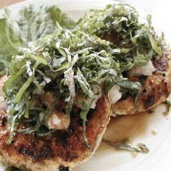 Chicken and Tofu Patties @ allrecipes.com.au