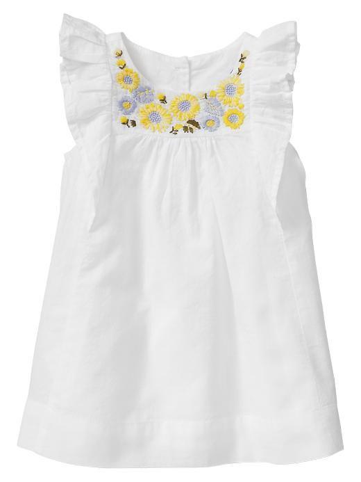Gap | Embroidered sunflower dress