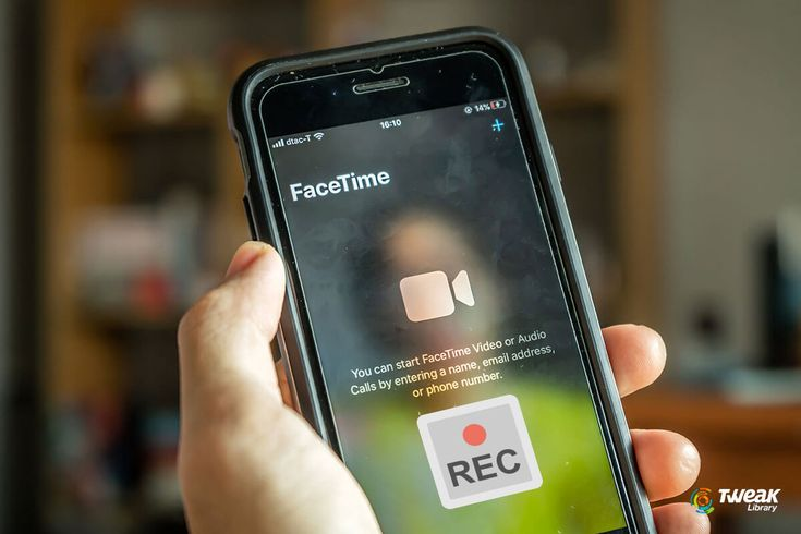 How to screen record facetime with audio on iphone ipad
