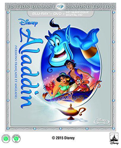 Aladdin [Blu-ray] @ niftywarehouse.com #NiftyWarehouse #Disney #DisneyMovies #Animated #Film #DisneyFilms #DisneyCartoons #Kids #Cartoons