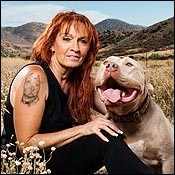 Tia maria torres.. the best person! Pitbulls are the most miss under stood breed! And shoulden't I have a pit puppy she has been the best don't go aguinst them love them! Watch pitbulls and paroles on animal planet I do :-)
