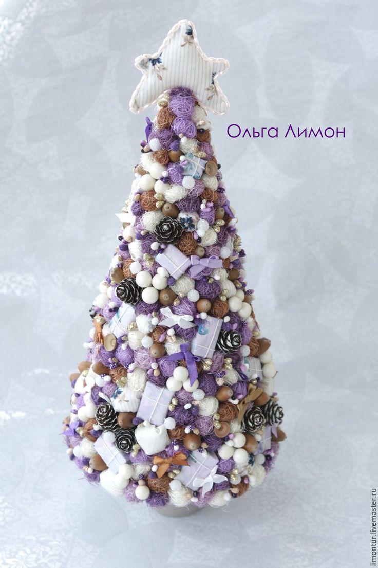 """Купить Елочка """"Сиренька"""" - сиреневый, Новый Год, новогодний подарок, новый год 2016, елка"""