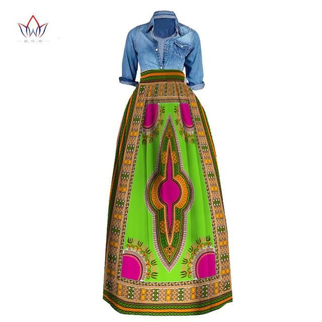 357aa59a68 African Print Summer Skirt for women Plus Size Dashiki African Traditional  Clothing Ball Gown Casual Skirts,Dashiki Plus Size African Maxi Skirt ,Plus  Size ...