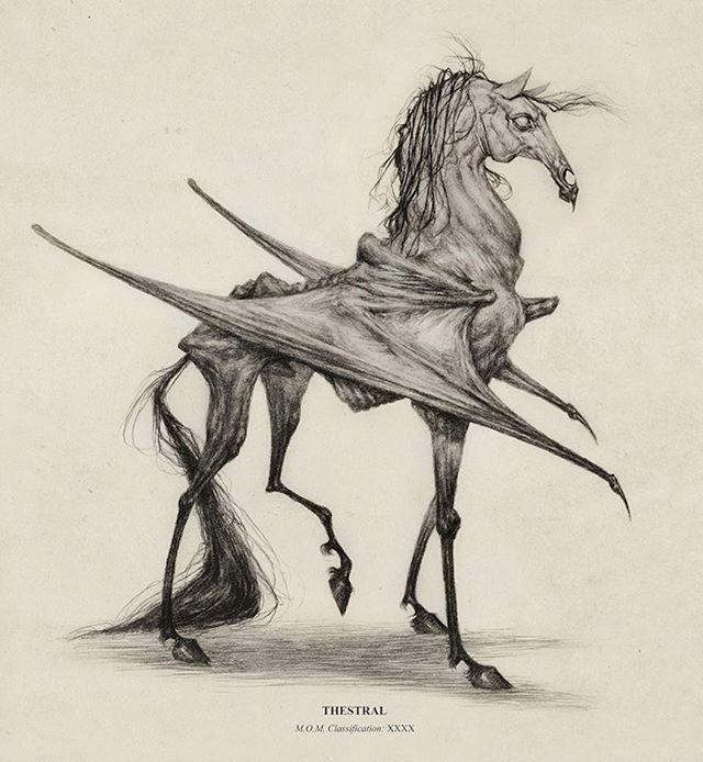 Thestral by audreybenjaminsenart