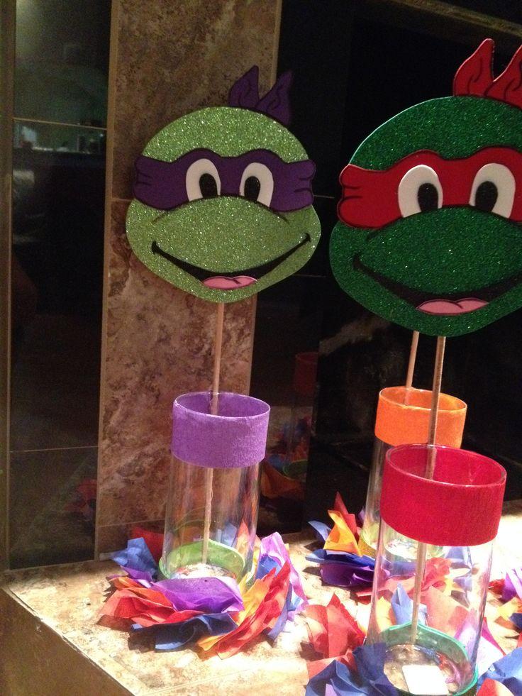 Leonardo's 5th Birthday! candy bar Ninja turtles