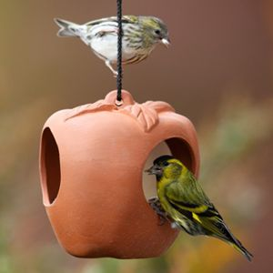 Terracotta Bird Feeders, Drinkers and Bird Baths for Sale